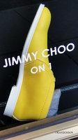 Yellow Choo Shoe
