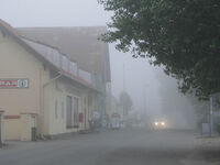 Island of Mon fog
