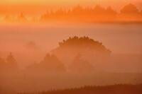 Sunrise Fog at Medicine Creek Farm