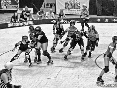 Recent Work-Denver Roller Dolls