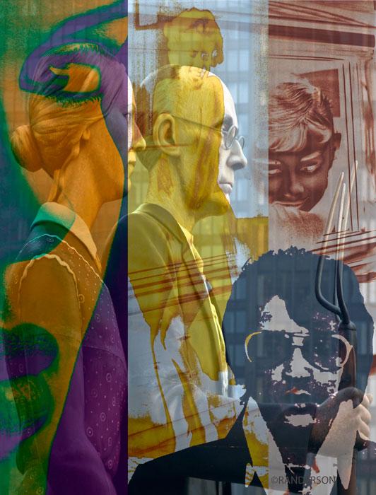 Pop collage, photo