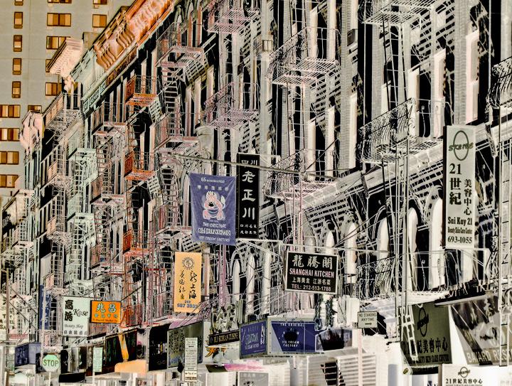 Chinatown street, photo