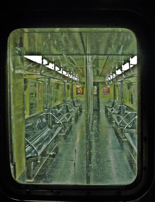 Subway car, photo