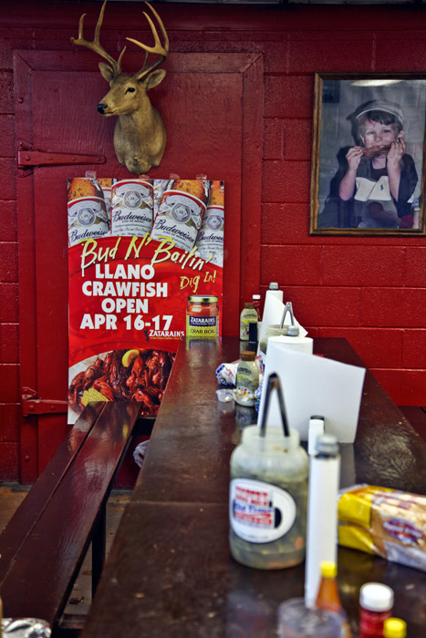 Texas barbeque place, photo