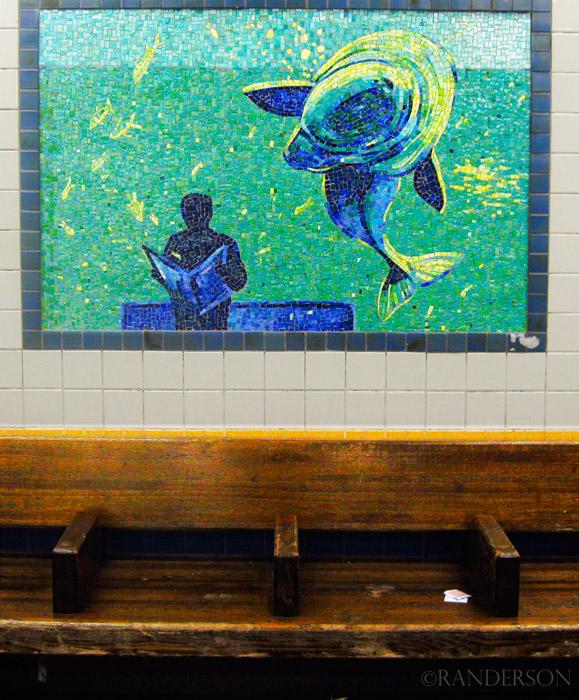 Station mosaic, photo