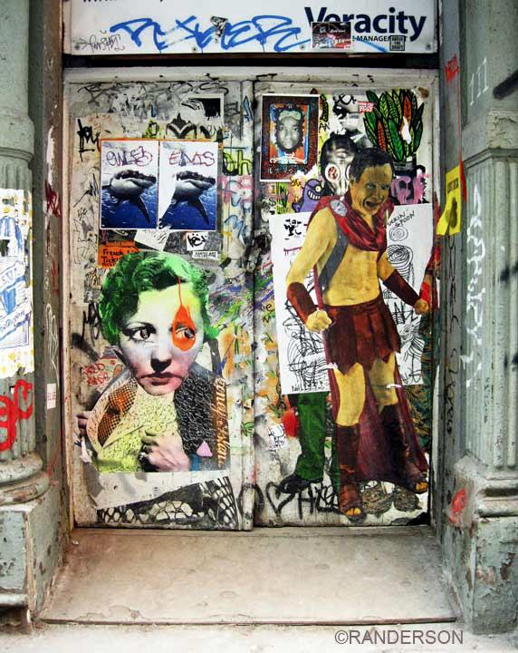 SOHO door, photo