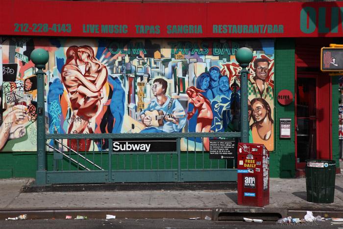 Subway entrance, photo