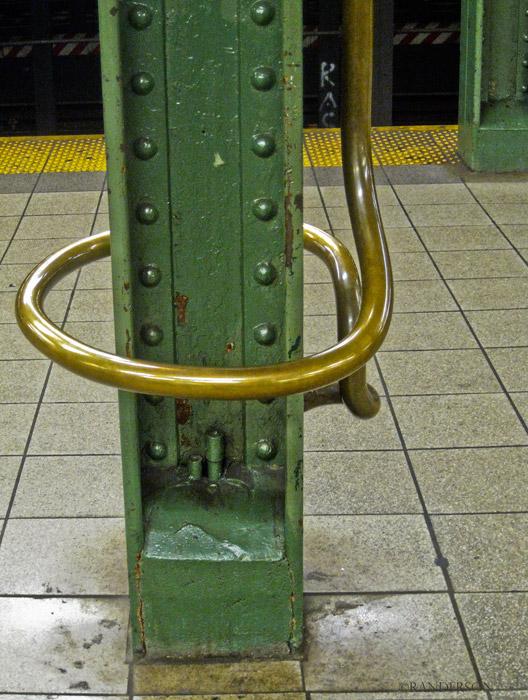 Subway seat, photo