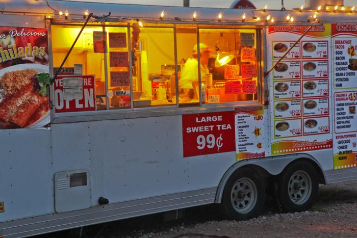 Food trailer, photo