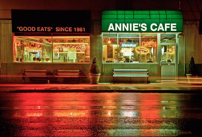 Annie's Cafe, photo