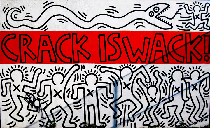 Keith Haring 1986 classic