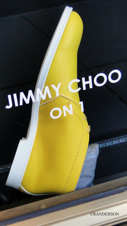 Yellow Choo Shoe