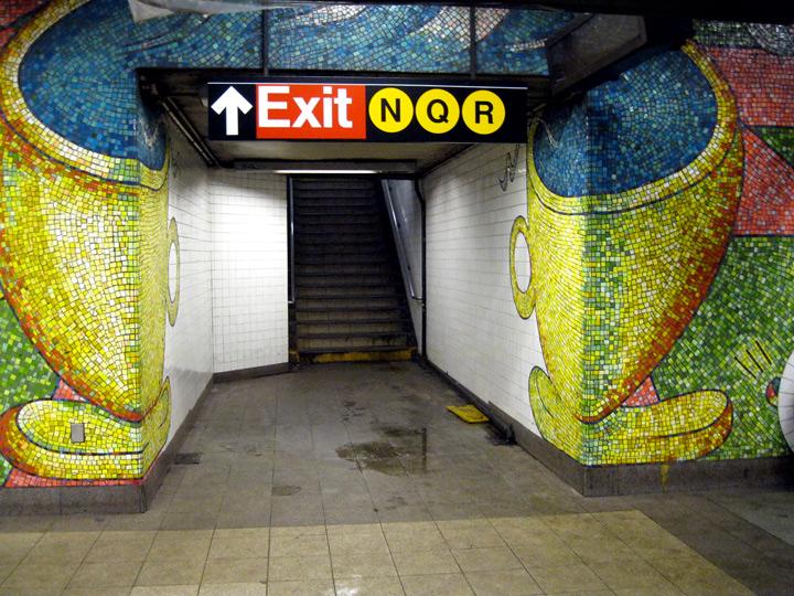 Subway art, photo