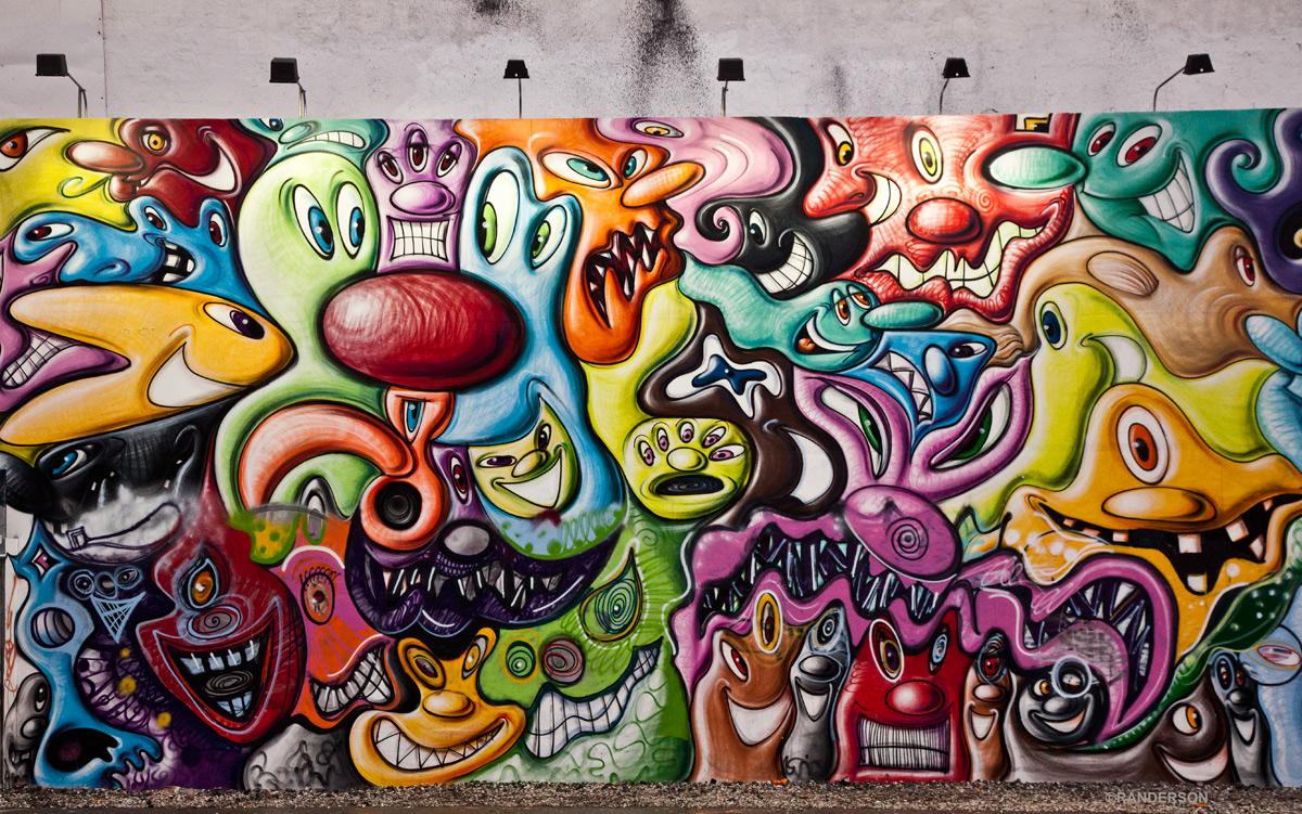 By Kenny Scharf