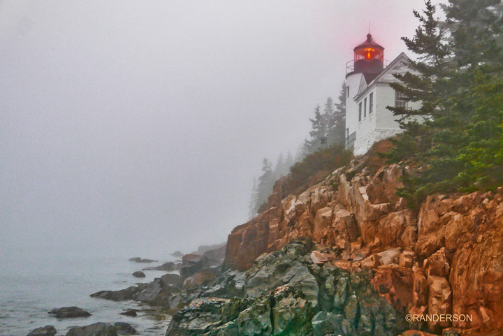 Bass Harbor Fog