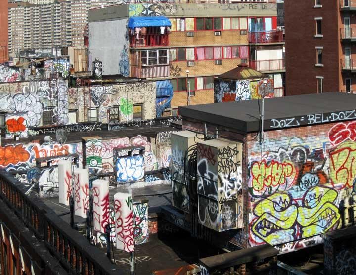 One little corner of New York
