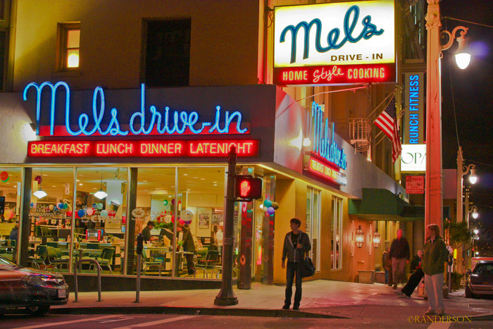 Mel's, san Francisco, photo
