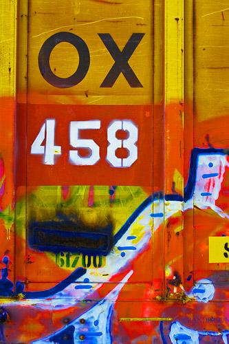 Boxcar art, photo