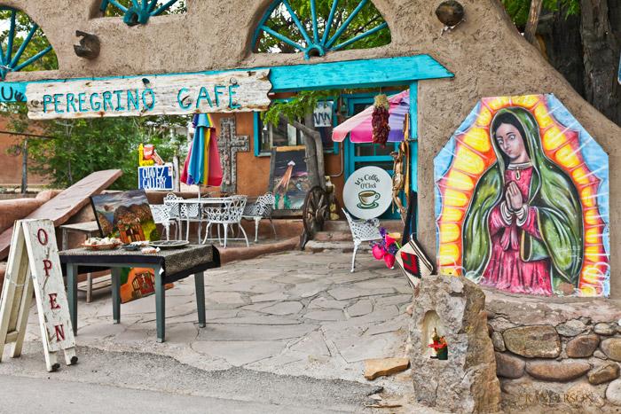 Peregrino Cafe, Chimayo, photo