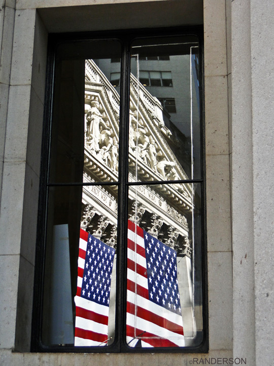 Reflected in the Fed's window