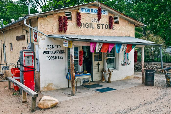Vigil Store, Potrero Trading Post, photo